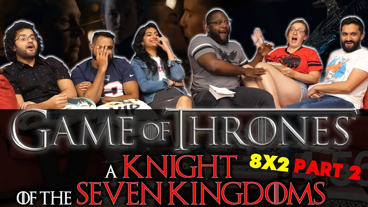 Download Game Of Thrones - 8x2 A Knight of the Seven Kingdoms [Part 2] - Group Reaction
