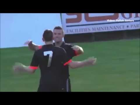 BEST HATTRICK EVER (TOM HANLON, POLLOK FC)