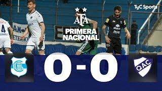 Gimnasia (J) 0 VS. Quilmes 0 | Fecha 6 | Primera Nacional 2019/2020