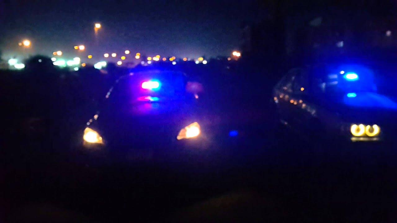 Police Strobe Lights Peugeot 301 Bmw E39 Egypt Youtube