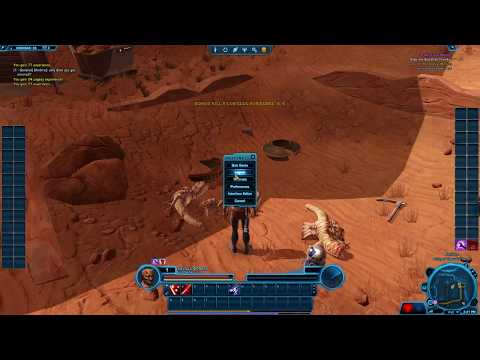 Incredible adventures in SWTOR. feat. Savage Opress