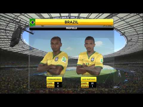 Brazil Chile 2014 World Cup 1 of 7 Full Game