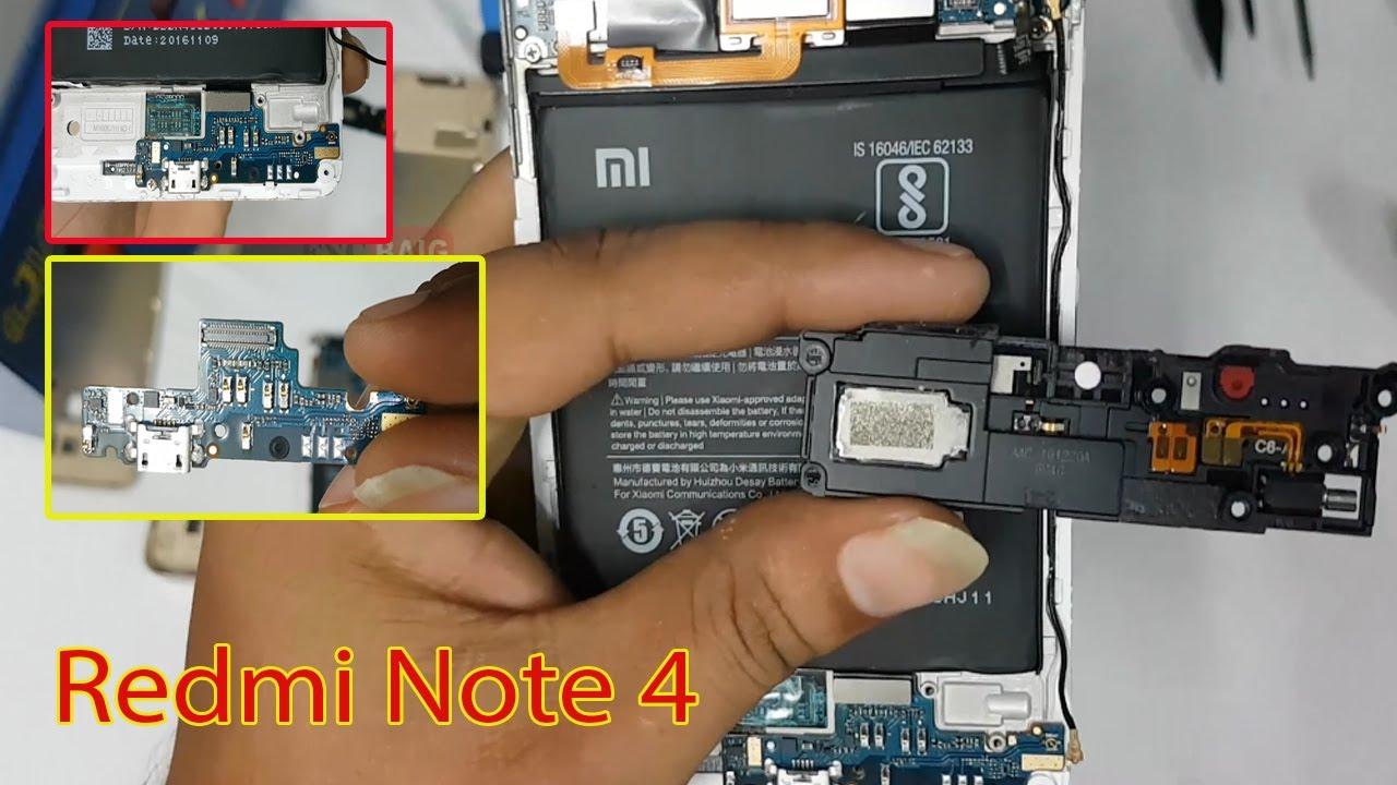 Xiaomi Redmi Note 4 Charging Pin Problem How To Replace Smartphone Red Mi Note4 Ram 3gb Emmc 64gb Dual Sim 4g Port