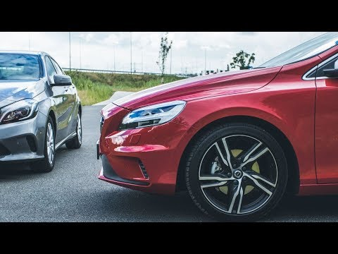 Volvo V40 T4 Business Sport vs Mercedes A180 Business Solution