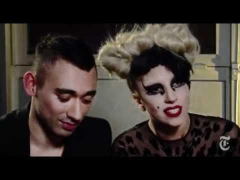 Lady Gaga - Suzy Menkes Thierry Mugler Interview 2011
