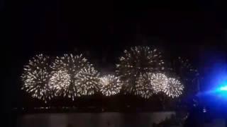 Фестиваль фейерверков. Салют.