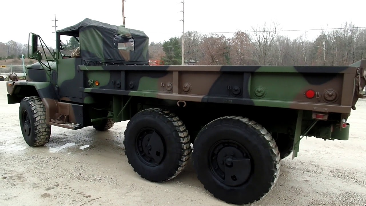 1998 Am General M35a3 For Sale Youtube