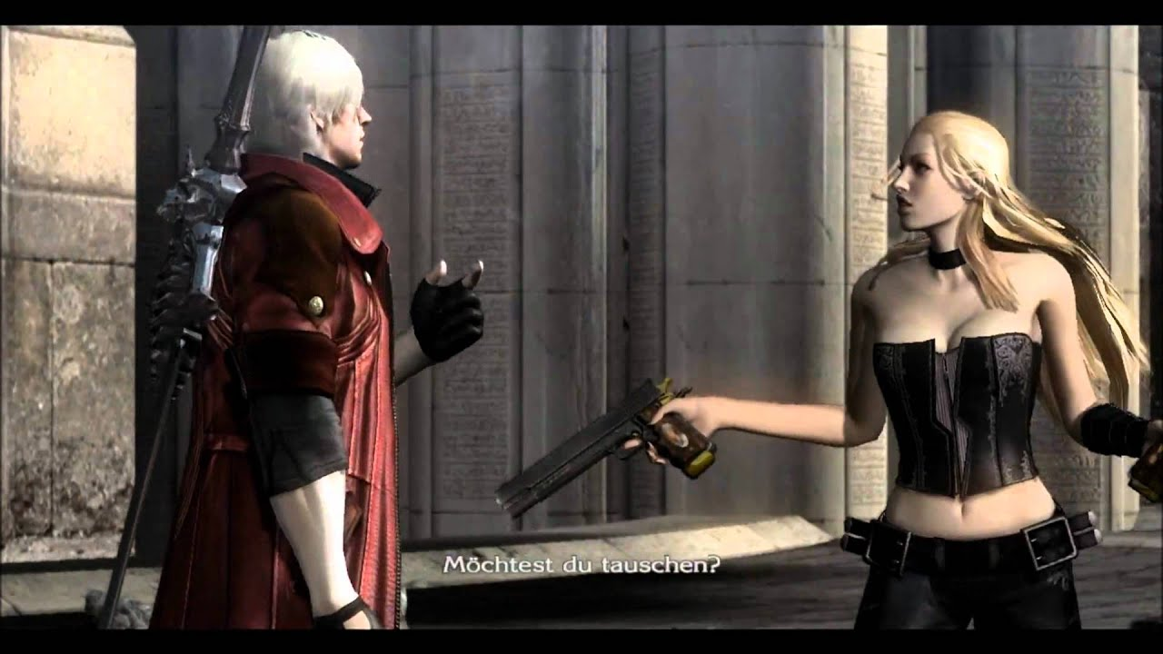 Devil may cry 4 и секс