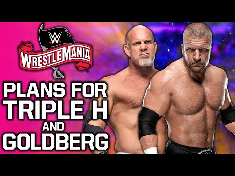 Current Plans For Triple H & Goldberg At WWE WrestleMania 36 Revealed