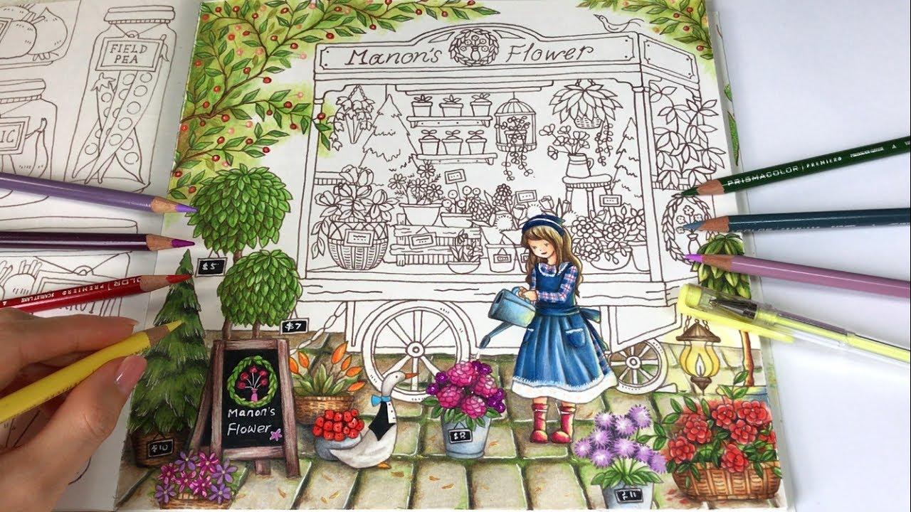PAVING STONES DRAWING Manons Flower Part 1 Romantic