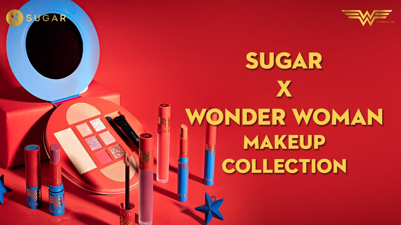 Introducing SUGAR X Wonder Woman Makeup Collection | New Product Launch | SUGAR Cosmetics