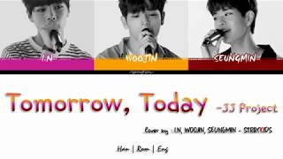 SKZ PLAYER (WOOJIN,SEUNGMIN,I.N) - TOMORROW, TODAY COVER (HAN-ROM-ENG COLOR CODED LYRICS)