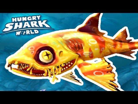 NEW SHARK WOBBEGONG!!! - Hungry Shark World | Ep 37 HD
