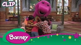 Barney sends selena gomez a nice big hug for her and all of friends! sing dance along with barney! subscribe to the official channel f...