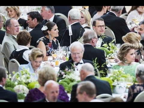 Kongeparet 80 år | Banquet at the opera