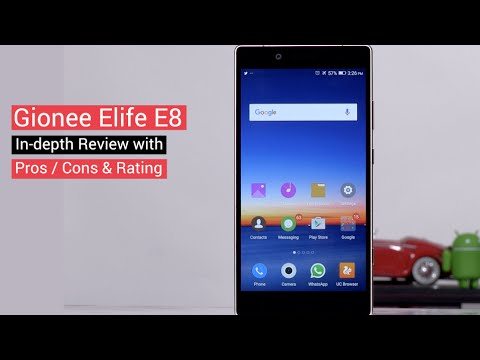 Gionee Elife E8 In-depth Review with Camera Samples / Pros / Cons & Rating