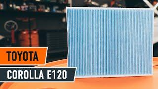 Assista a um guia em vídeo sobre como substituir Sensor lambda em TOYOTA COROLLA Saloon (_E12J_, _E12T_)