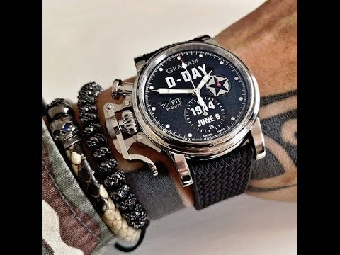 Graham Watches - Chronofighter Vintage D Day -  Tribute To The Fallen