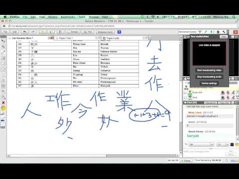 Pelajaran Bahasa Mandarin - Semester II - TTM Online - Pertemuan 1 (Episode 2)