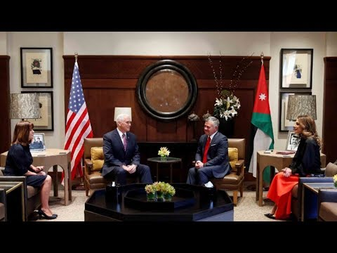 Download Youtube: Jordanian king tells Pence two-state solution the only way to settle Israeli-Palestinian issue