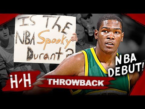 Kevin Durant NBA debut game SuperSonics highlights