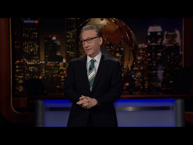 Monologue: Riches for Snitches   Real Time with Bill Maher (HBO)