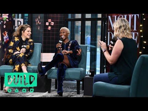 Cynthia Erivo & Shoshana Bean Talk Their Holiday Show, Night Divine
