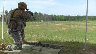 LSAT Light Machine Gun Test Fire Demonstration