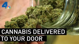 Marijuana Can Be Delivered to Your Door, But Are Services Following the Rules? | NBCLA