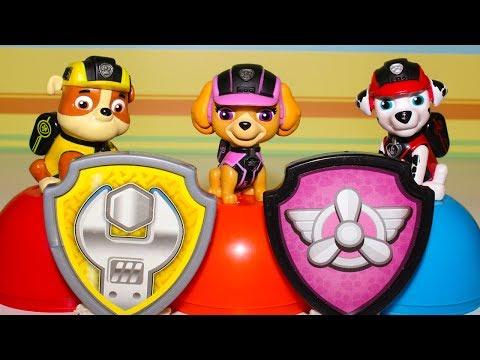 Щенячий патруль все серии Развивающие мультики для детей Сюрпризы игрушки Видео для детей