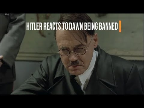 Hitler reacts to Dawn being banned from Gempanda's globe defense server