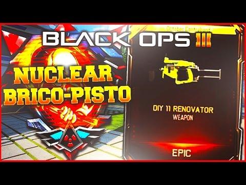 Nucl aire avec le pistolet clou brico pisto 11 sur black ops 3 youtube - Pistolet a clou ...