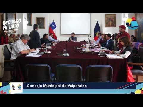 Concejo Municipal Valparaíso -21/03/2018