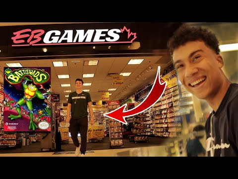 Kicked Out Of EB Games For Battle Toads...