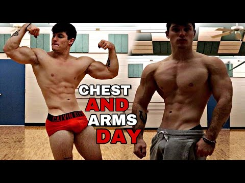 GROWING LEAN MUSCLE | Arm & Chest DESTRUCTION w/ Derek Martin