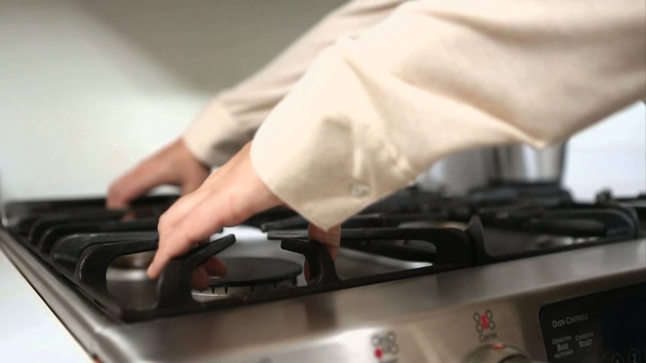 How To Clean Stove Burners Youtube