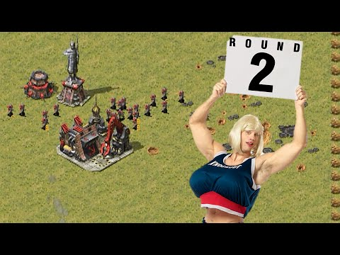 Red Alert 2 Yuri's Revenge 4 rounds EXTRA SMALL map
