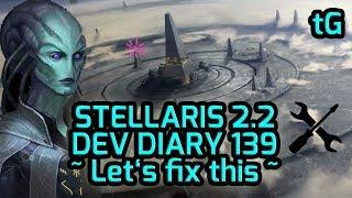 Stellaris 2019 S Repairs Dev Diary 139 Pop Growth Ship Upgrades Planet UI Patch 2 2 Beta