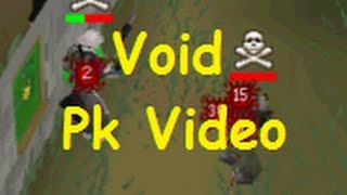 Runescape 2007 Pk Adventures 3 l Void Pking l Pvp Worlds