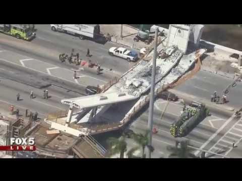 Bridge near Florida International University collapses