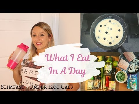What I Eat In a Day on Slimfast | Under 500 Calorie Dinner | Slimfast UK | Weightloss |
