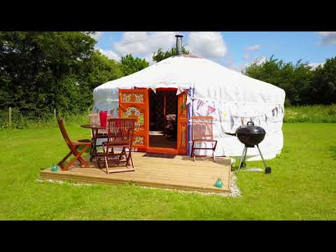 Buxhall Country Glamping – Cool Camping – Video Tour