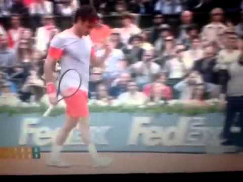 Roger Federer eliminated by Ernests Gulbis at Roland Garros 2014