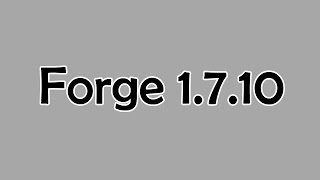 Как установить Forge на Майнкрафт  1.7.10