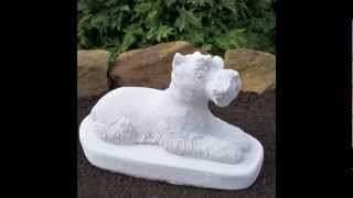 Schnauzer Statues Galore! Shipping Garden Statuary Worldwide Safely Affordable.