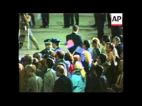 GREECE: US PRESIDENT CLINTON VISIT