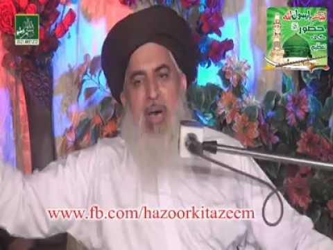 Allama iqbal hajj par q nahi gae zaror sune ..allama khadim hussain rizvi