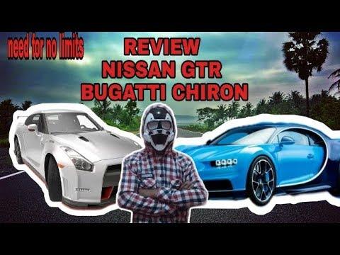 NFS REVIEW BUGATTI CHIRON & NISSAN GTR