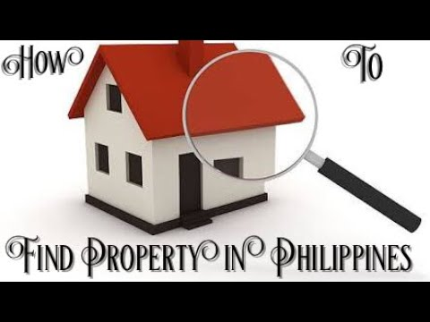 How to find property in the Philippines