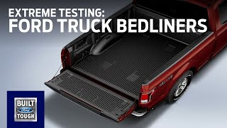 Extreme Testing: Ford Bedliners | Accessories | Ford